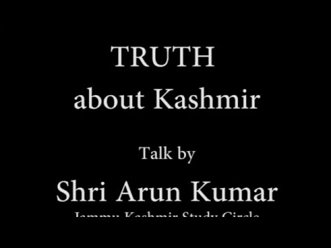 Unknown Facts and Truth about Kashmir