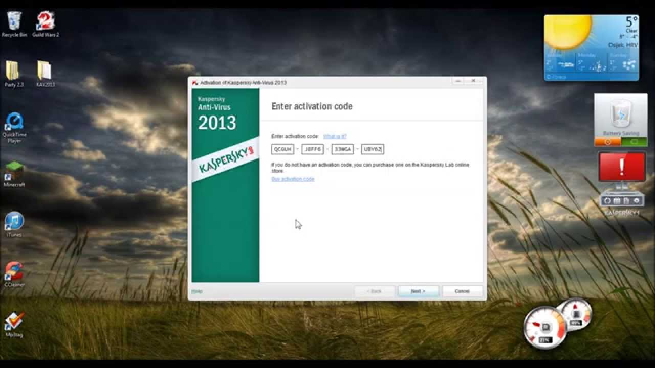 My kaspersky activation code free 2019