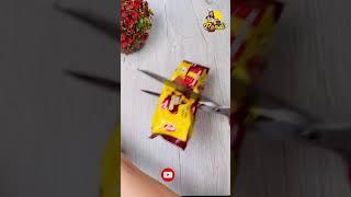2 Ingredients Biscuit Ice Chocks | අමුද්රව්ය 2න් අයිස් චොක්ස් හදන ලේසිම විදිහ 😝 #shorts #viral