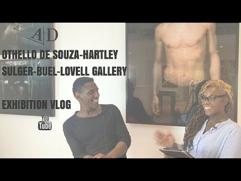 Othello De Souza-Hartley at Sulger-Buel Lovell Gallery. EXHIBITION VLOG