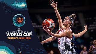 Kia Nurse 29 points vs Korea! - FIBA Women's Basketball World Cup 2018