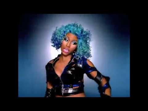 Nicki Minaj's verses in several videos
