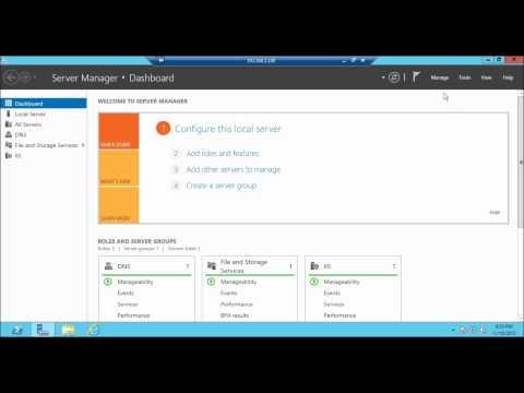 HTTP to HTTPS redirect : URL Rewrite in IIS 8 Windows Server 2012  Part 5 : SSL Certificate
