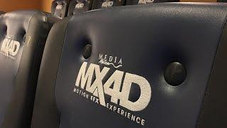 體驗 MX4D 戲院 11 道動感特效