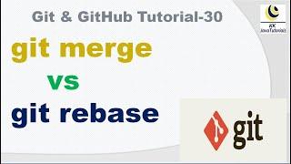 git merge vs rebase || git tutorial || git interview question || git rebase || git merge