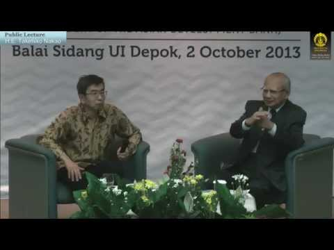 UI Public Lecture | HE Takehiko Nakao President of the ADB