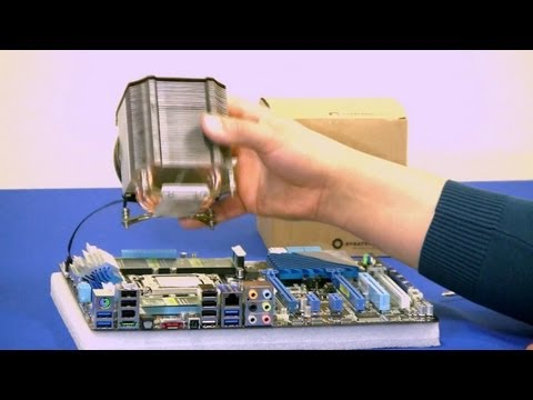Dynatron R17 CPU Cooler Hands-on Review