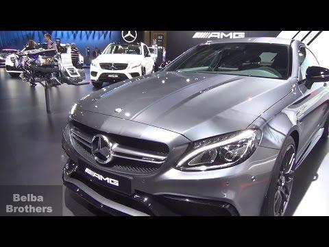 Московский Автосалон 2016. Mercedes Benz. C 63s, E 200 и G63 AMG на ММАС 2016