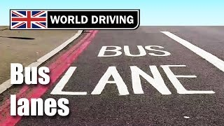 When to drive in bus lanes (UK driving test tips) - driving lessons