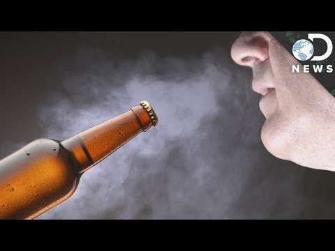 How Breathing Alcohol Gets You Drunk