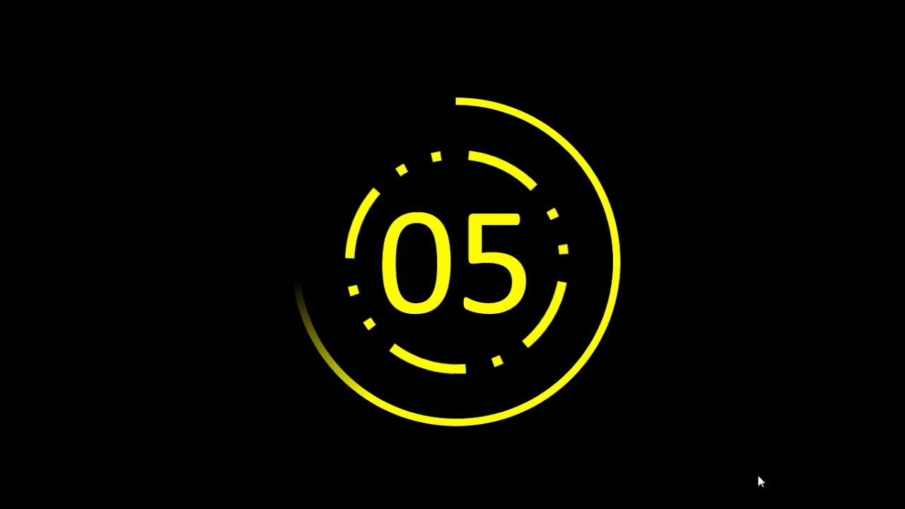 10 Seconds Countdown 10 مونتاج عد تنازلي Youtube