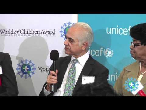 Interview - Dr. Ashok K. Banskota in World of Children Health Award 2011