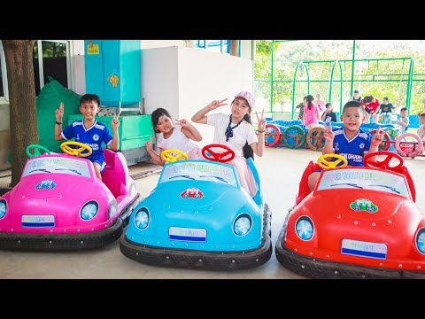 Kids Go To School | Chuns and Best Friends Learn OTO driver Fairy Garden Children's Toys City