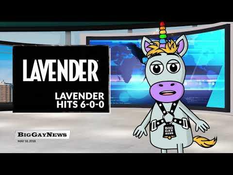 Big Gay News for Friday, May 18: More Sunshine, Lavender Hits 6-0-0
