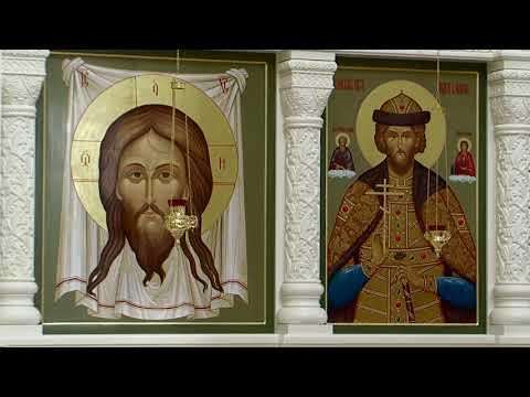 Иконостас храма св. Андрея Боголюбского на Волжском.