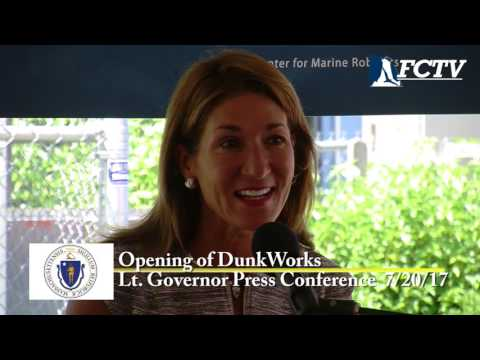 Lt. Governor Karyn Polito Press Conference - DunkWorks July 20, 2017