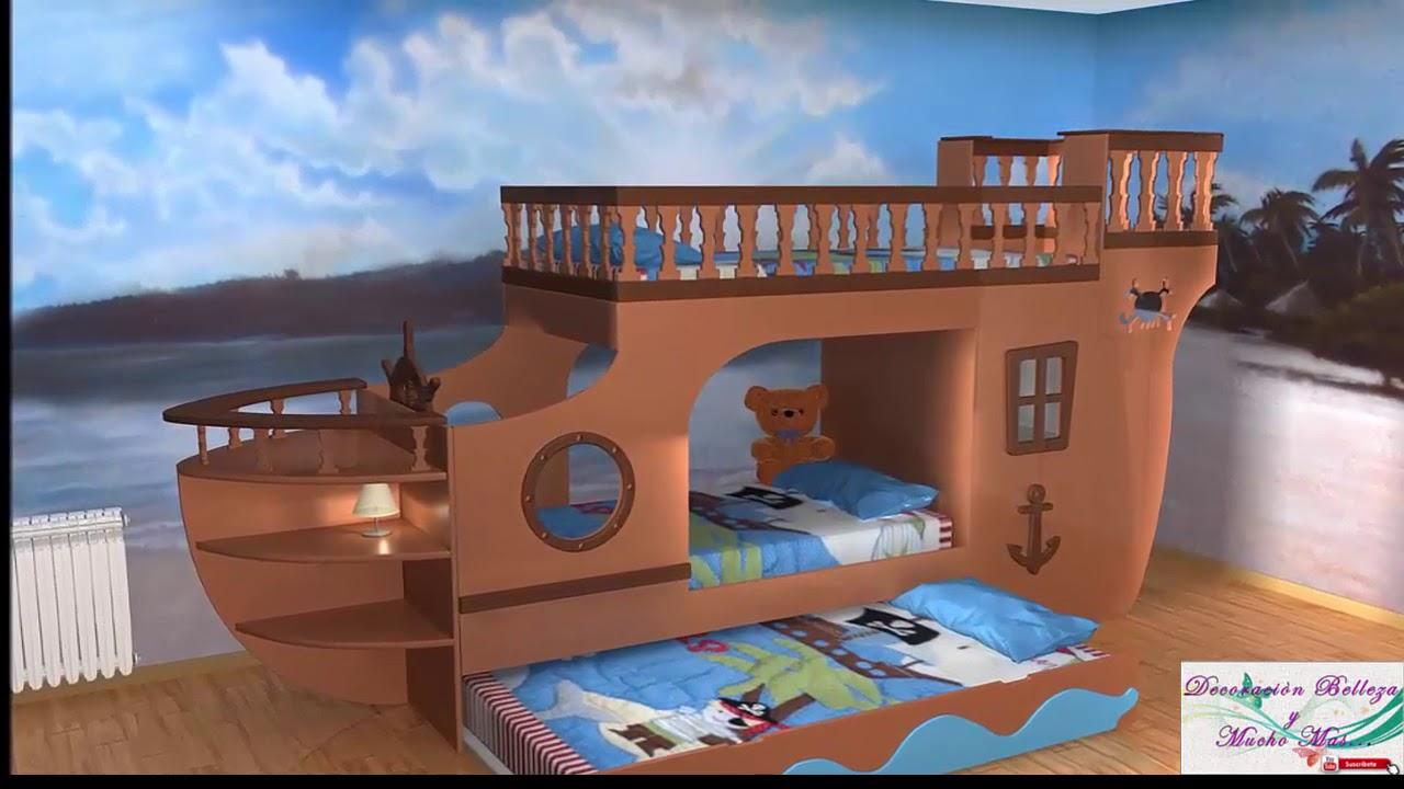 Ideas para decorar cuartos para ni os muy hermosos youtube - Ideas para decorar habitaciones infantiles ...