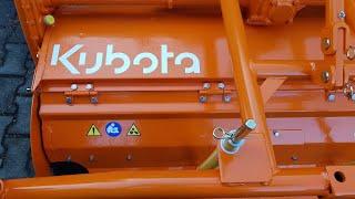 Pierwsze próby glebogryzarki Kubota RL1401 & YANMAR F24D 4x4