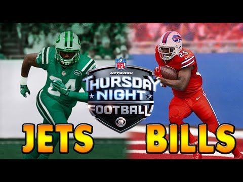 Buffalo Bills Madden 16 Week 10 - Thursday Night Football vs. the New York Jets - Tyrod Taylor