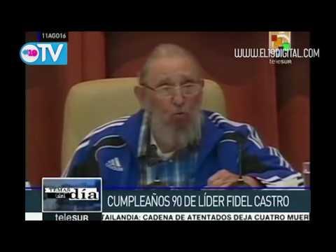 Cuba: cumple Fidel Castro 90 años de vida revolucionaria