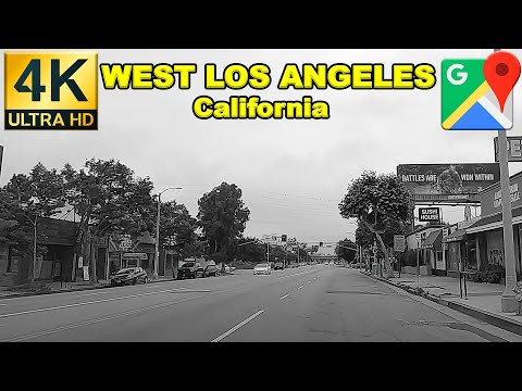 🚦DAILY DRIVING VLOG: WEST LOS ANGELES | Southern California | Ambient Music | May 2020