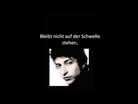 Bob Dylan - The Times They Are A-Changin (Übersetzung)