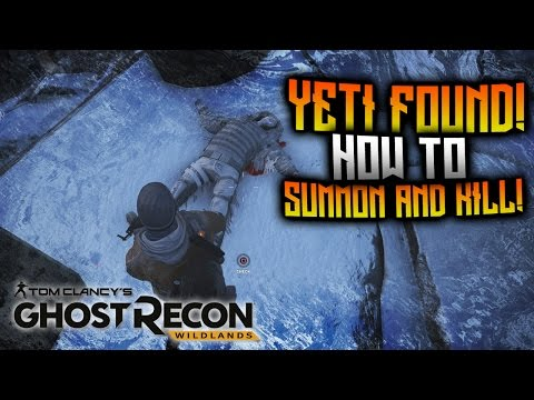 Ghost Recon Wildlands - YETI FOUND! How To Summon And Kill El Yeti!
