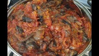 Консервация грибов в томате с луком и морковкой.Очень вкусно!!!