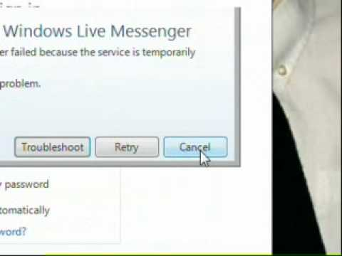 How To Fix A Key Port Error On MSN Messenger With Windows 7