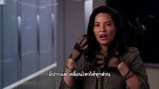 The Predator - Olivia Munn Interview (ซับไทย)