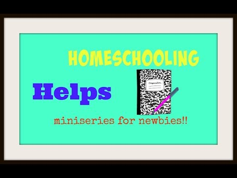 REMIX OF THE FULL BREAKDOWN OF HOW TO START HOMESCHOOLING!!!