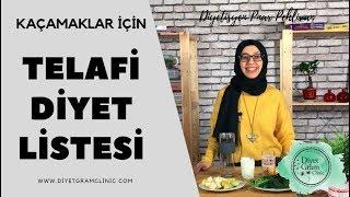 Telafİ Dİyet Lİstesİ , Kaçamaklar İçin; Ispanakli Smoothİe L Diyetisyen Pınar Pe