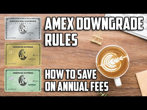 American Express Downgrade Options And Rules