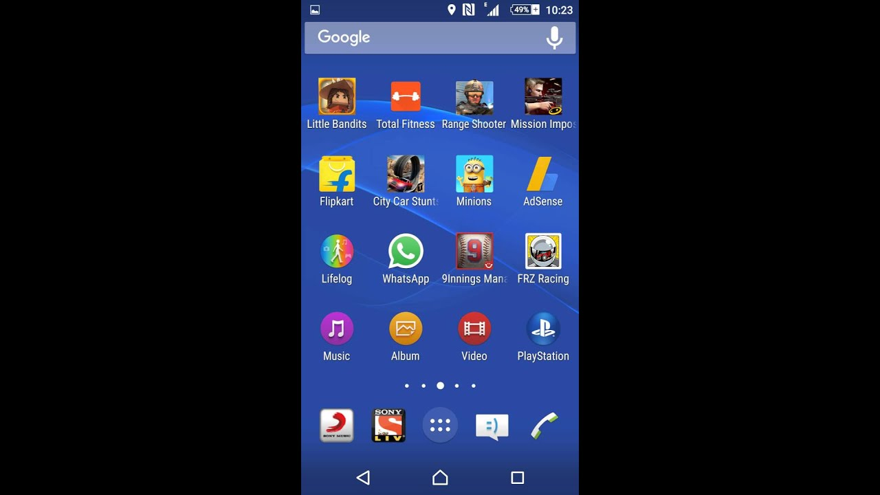 How to increase or decrease the home screen icon size in android lollipop  5 1