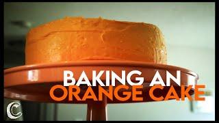 Baking an Orange Cake
