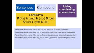 Sentence Structures - Simple, Compound and Complex
