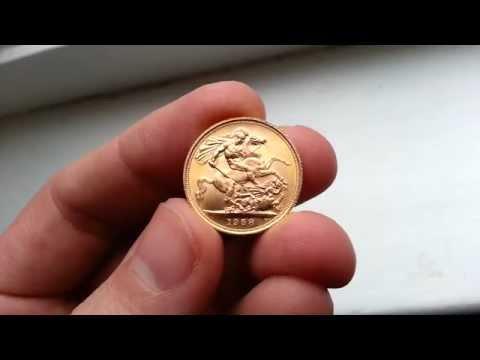 Gold Sovereign Bullion Coin HD