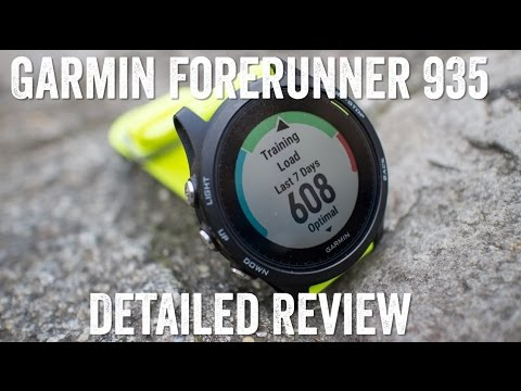 GARMIN FORERUNNER 935 DETAILED REVIEW!