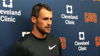 """Kevin Love on the Cavs: """"It's not a rebuild"""""""