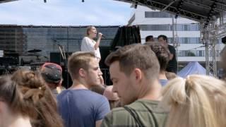 Claire - Burn (Kosmonaut Festival Warm Up, Chemnitz, 11.06.2017)