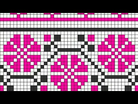 Easy Graph Knitting Patterns Graph For Knitting Cross Stitch