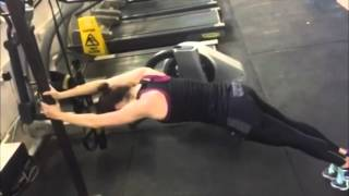 Daisy Ridley gym workout/training for Star Wars: The Force Awakens デイジーリドリー水着 検索動画 9