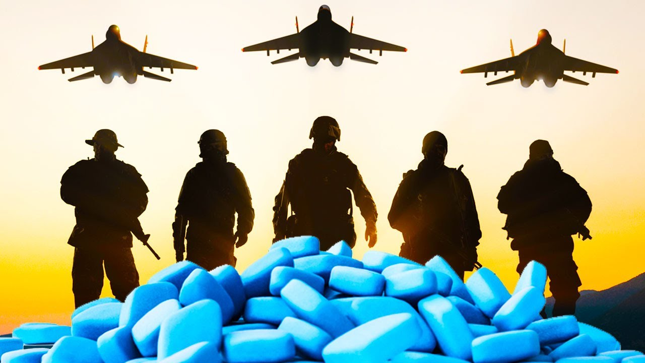 How much does military spend on viagra