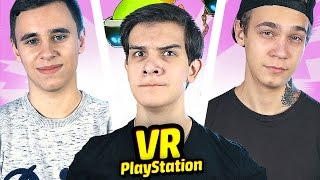 ИГРАЕМ С ДРУЗЬЯМИ в PlayStation VR!