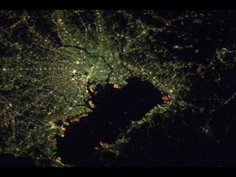 City Lights From International Space Station (2002-2008)