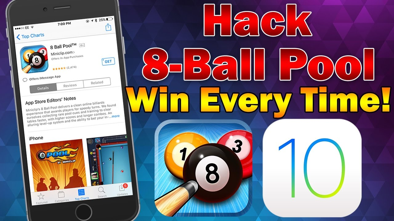 8 Ball Pool Cheats Android 2018 how to hack 8-ball pool to show infinite guidelines on ios