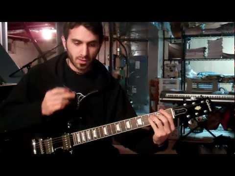 Bush - Glycerine (Guitar Lesson)