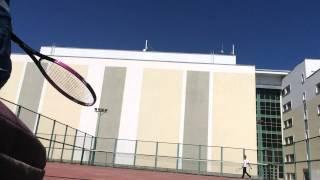 Tennis Friendly Match (Nazarbayev University Court)