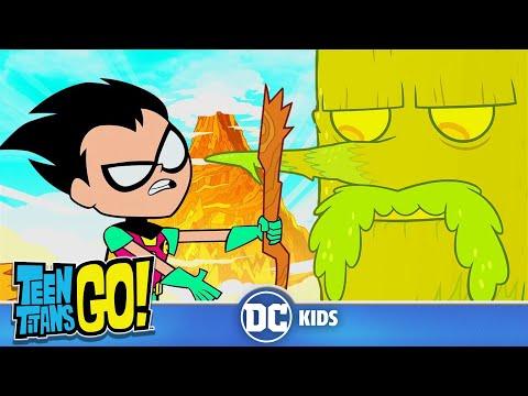 Teen Titans Go! en Français | Pauvre Petit Arbre De L'Univers!