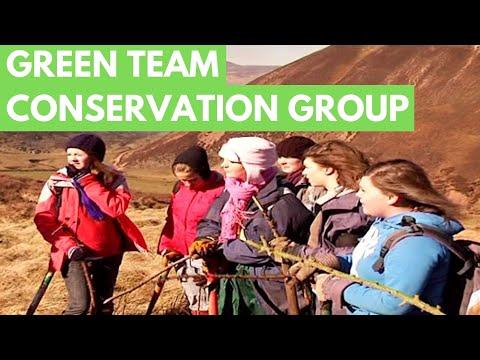 Green Team Conservation Charity Edinburgh Scotland -  Green Volunteer Programme - Volunteer Projects